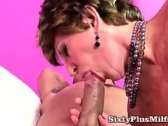 Granny Big Tit Tatoo And A Bald Pussy