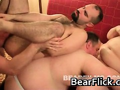 Gay Bear Orgy Big Ass Fucking Part4