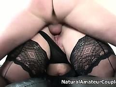 Busty Brunette Amateur Slut Goes Crazy Part4