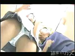 Asian Photo Booth Upskirt