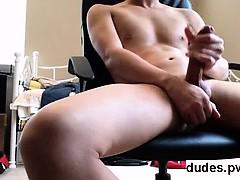 Amateur Young Asian Shooting Cum At Home