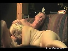Old Couple Having Sex