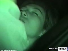 Outdoor Voyeur Car Sex Filming Porn Video