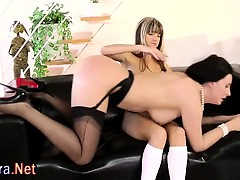 Mature Stockings Lesbo And Teen