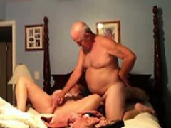 Toying my 57 years old wife to an orgasm