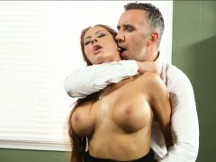 office-whore-madison-ivy-cum-swallows-after-hardcore-sex