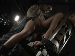 Sexy Blonde Willa Hard Whipped And Fucked In Obscure Loft