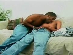Ebony Gay on Intense Anal Fucking Action
