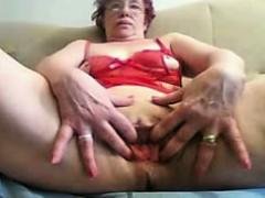 living-room-solo-granny-housewife-mirella