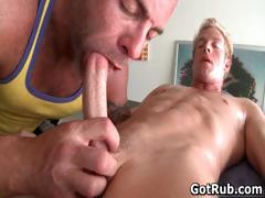 Hot Guy Get His Amazing Body Massaged Part6