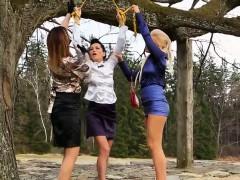 Lesbo Trio Piss Drenching