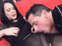 Shemale Fernanda Getting Her Cock Sucked By A Stud