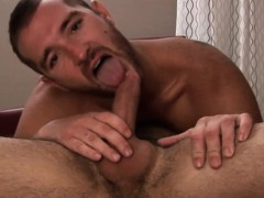 Hairy Gay Matures Anal Action Closeup