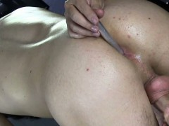 Massage Table Straight Guys Ass Played