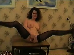 horny-busty-mother-strips-and-masturbates