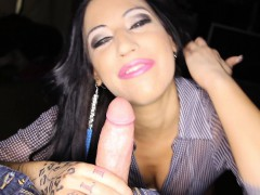 Cock Hungry Horny Cute Girl Daisy Cruz Swallows Every Last