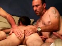 three-straight-bears-enjoy-anal-toying
