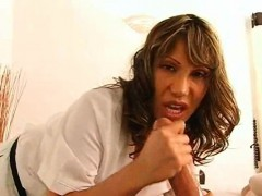 Milf Massaging Teen Cock And Sucking It Too