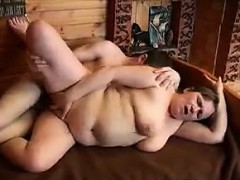 Fat Grandma Wants His Hard Young Cock