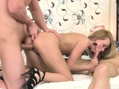 sweet-blonde-amateur-teen-chick-plays-with-two-dicks