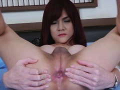 Sexy Tranny Babe Ping Loves Her Meat