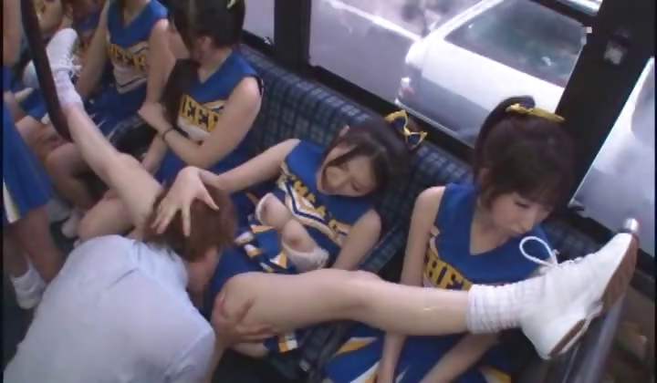 Showing Media  Posts For Japanese Cheerleader In The Bus -4880