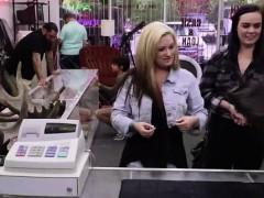 Pawn Shop Cash Lures In Lesbian Amateurs On Spycam