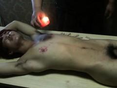Asian Slave Boy Hot Wax