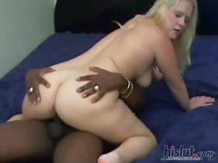 This Blonde Amateur Loves The Dark Dick