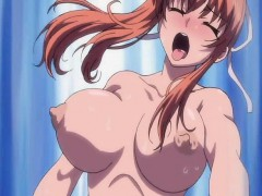 Ginger hentai girl gets licked and fucked