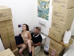 Large Tits Teen Babe Sucked Off Prick