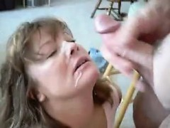 Hot Mum Takes a Facial, She wants more!