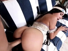 Enticing Sexy Teen Chick dressed in an Indian Costume Zaya