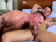 Bareback Bdsm Anal Gay With His Cum Boinked Out Of Him, Tate