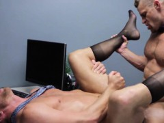 Office Hunk Riding Thick Cock With Tight Ass