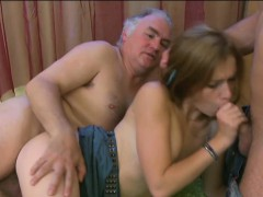 Lovely Young Teenie Is Going To Be Banged Hard By Old Chap
