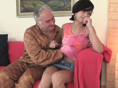 Horny Old Fucker Enjoys Sex With Young Impressive Playgirl