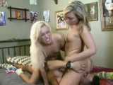 Hot Threesome With Two Hot Blondes