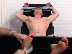 Jock Jake Laughs Crazy Hard While Being Tickled On His Feet