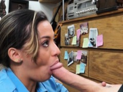Latin Police Officer Gets Her Muff Banged By Pawn Dude