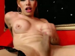 transsexual-covers-her-body-with-her-own-cum