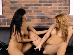 Lusty Babe Arranges A Sexy Solo Action And Makes Pissing
