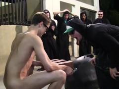 Hazed Straight Twinks Buttfucked Outdoors