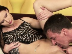 Daddy Seduce Skinny Step daughter To Fuck With Massage