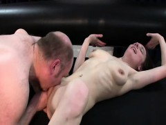 Skinny Teen Slut Fist Fucked By A Fat Old Pervert