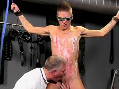 Trailer Bondage With Monster Cock And Hairy Armpits Men Bond