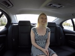 Shy Teen Gets Fucked By Her Driver Swallow Cum