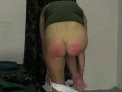 Plaid Skirt Spanked Good By Blonde