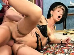 slutty-blonde-granny-takes-every-inch-of-a-long-stick-deep-in-her-ass