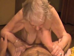 Cumshot On Granny Saggy Tits With Verdell From Dates25com